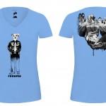 T-shirts Café 2014-BLEU C f