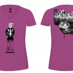 T-shirts Café 2014-ROSE