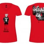 T-shirts Café 2014-ROUGE f